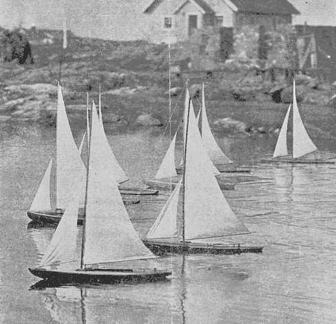 Vintage model yacht group, ebony teens cum